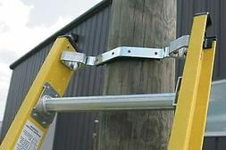 Non-slip rubber grip attached to v-rung steel