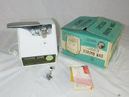 NOS Vtg Mid Century Magic Hostess Electric Can Opener White