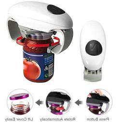 One Touch Jar Can Bottle Opener Automatic Electric Hands Fre