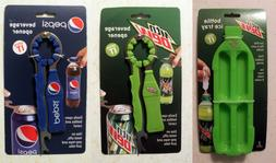 Pepsi/Mountain Dew: Bottle/Can Opener 3 in 1 & Ice Cube Tray