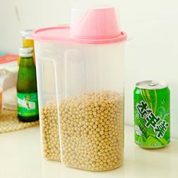 KAKA Plastic Cereal Keeper Food Storage Container Kitchenwar