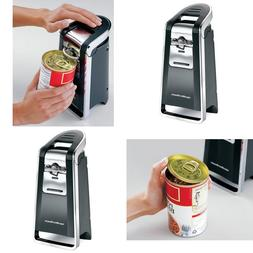 Portable Electric Can Opener Soft Touch Large Ergonomic Leve