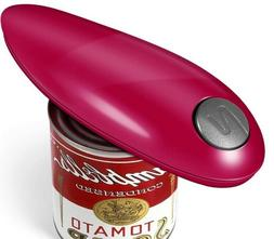 Red Electric Can Opener Automatic Restaurant can Opener