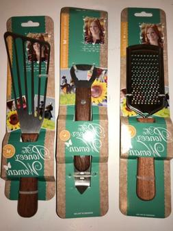 Set of 3 THE PIONEER WOMAN Kitchen Utensils Spatula, Grater
