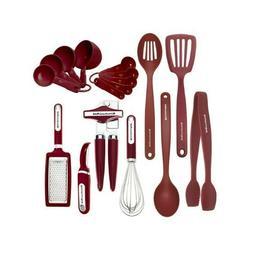 38 Piece Tool Set Kitchen Utensil Set Stainless Steel & Nylo