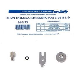Edlund SG2/G-2 NSF Stainless Steel Knife and Gear Replacemen