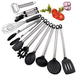 iHomey Ktichen Utensils Set, 10 Nonstick/Heat Resistant Cook