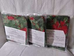 SMALL APPLIANCE COVERS SET 3 Christmas COFFEE MAKER Toaster