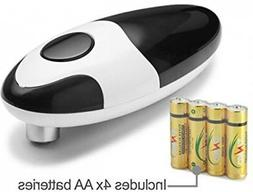 Chef's Star Smooth Edge Automatic Electric Can Opener  4 AA