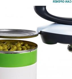 Tupperware Smooth Edge Can Opener - Black & White