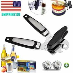 Smooth Edge Can Tin Bottle Jar Lid Opener Heavy Duty Manual