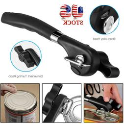 Smooth Edge Side Tin Can Opener Stainless Steel Manual Bottl