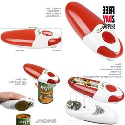 Bangrui Smooth Soft Edge Electric Can Opener With One-Button