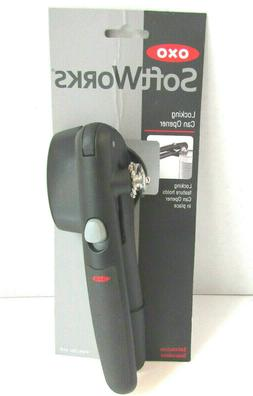 OXO SOFTWORKS LOCKING CAN OPENER ~ BLACK