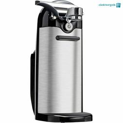 Stainless Steel Electric Can Opener Kenmore with Knife Sharp