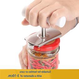 Stainless Steel Handheld Jar <font><b>Opener</b></font> Adju