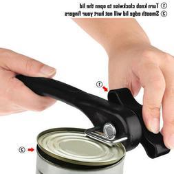 Stainless Steel Manual Swing Away Can Opener Lid Black Opene