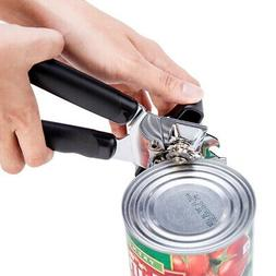 Stainless Steel Opener Manual Can Opener Safety Hand Held fo