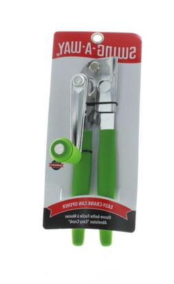 Swing-A-Way Easy Crank Can Opener Heavy Duty Comfort  Grip,