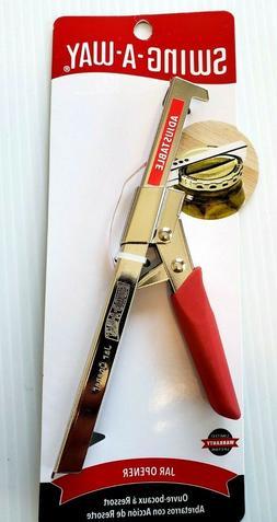 Swing-A-Way -  RED Color Comfort Grip Jar Opener