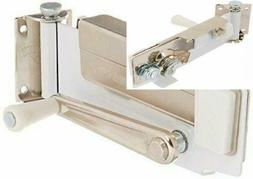 Swing-A-Way Wall Mount Can Opener with Magnet, 1-Pack, White