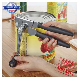 Swing Away Hand Manual Can Opener Extra-Long Crank Handle Bo