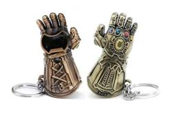 1 Thanos Infinity Gauntlet Keychain Bottle Opener