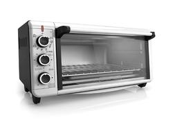 Toaster Oven - Black Decker 8-Slice Extra-Wide Convection Co