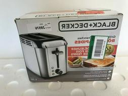 BLACK+DECKER TR3500SD 2-Slice Toaster, Bagel Toaster, Stainl
