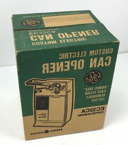 Vintage 1970's General Electric GE Can Opener EC32CA Unopene