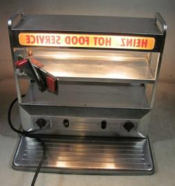 Vintage Heinz Hot Food Service Vending Display Soup Lunch Mo
