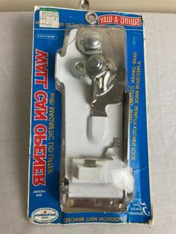 Vtg Swing-A-Way Wall Mounted Can Opener New Old Stock Origin