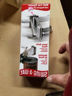 swing away Wall can opener with magnetic lid #609WH NOS NIP