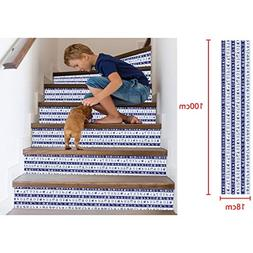 AMSKY Window Decoration Kit Kids, 3D Simulation Stair Sticke